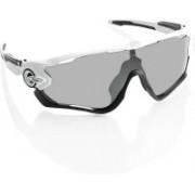 Oakley JAWBREAKER Rectangular Sunglass(Grey)