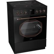 Стъклокерамична готварска печка Gorenje EC63INB, Обем на фурната 65л, Електронен таймер