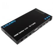 LIGAWO ® HDMI Kabel Splitter 16 port/fach 1 zu 16 1:16 1080p - Demoware mit Garantie (Neuwertig, keinerlei Gebrauchsspuren)