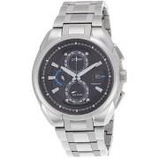 Citizen Eco-Drive Analog Black Dial Mens Watch - CA0201-51E
