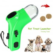 Meco Pet Dog Play Treat Launcher Food Snack Training Feeder Fun Outdoor Cat Puppy Toy