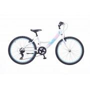 Neuzer Maja 24 lány gyermek kerékpár Fehér