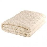 Nord Snow Leaves Style Merino Wool Blanket - Light