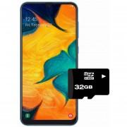 Samsung Galaxy A30 dual sim 64+4GB+MicroSD 32 gratis - Azul