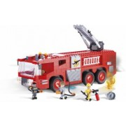 Set de construit masina de pompieri 420 piese - Cobi
