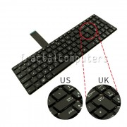 Tastatura Laptop Asus K75VM layout UK
