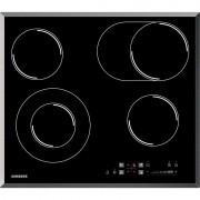 Plita incorporabila CTR164NC01, Electric, 4 Zone, Sticla neagra