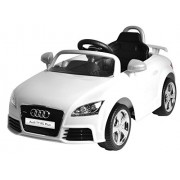 PA Toys Licensed Version Audi Tt Rs Plus Ride On Kids Car - White
