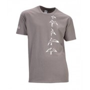 PRS T-Shirt Charcoal Bird XL