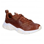 Tommy Hilfiger Chuncky Leather Cognac Sneakers