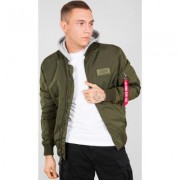 Alpha Industries MA-1 TT Hood Giacca Verde 3XL