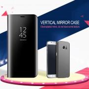 EH Modo De Sueño Smart Wake UP Flip Caso Del Teléfono Móvil Para Samsung Galaxy S8 Plus - Negro