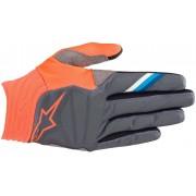 Alpinestars Aviator Motocross handskar Grå Orange 2XL