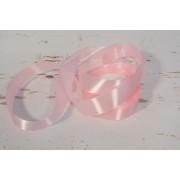 Díszítő dekoráló dekorációs 25 mm rózsaszín szatén szalag 20m