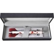 Pix multifunctional de lux PENAC Maki-E - Sensu in cutie cadou corp alb