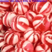 Maxons Red Bulls Eyes Traditional Hard Boiled Retro Sweets