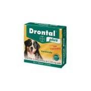 Vermífugo Drontal Plus 35kg Com 2 Comprimidos