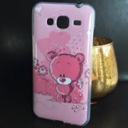 Husa Samsung Galaxy J3 (2016) J320 Silicon TPU Gel Model GLY Love Pink Bear
