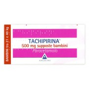 > Tachipirina Bambini 10 Supposte 500 mg