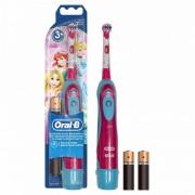 Periuta electrica Oral B D2010 Baby, model pentru fete, 3 ani+