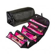Taška na kosmetiku rolovací černá 407-10