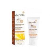 Crema Protectie Solara Bio SPF 50 Colorata Nuanta Deschisa Acorelle 50ml