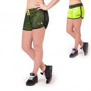 Gorilla Wear Madison Reversible Shorts - Black/Neon Lime - L