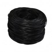 Bobina de 305 metros de cable UTP categoría 6, X-Case color negro