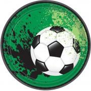 Amscan Feestbord Voetbal 17,7 Cm 8 Stuks