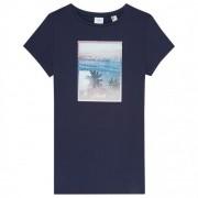 O'Neill - Women's PaPhoto Print T-Shirt taille M, noir/bleu/gris
