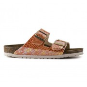 Birkenstock Arizona Snake Orange Dam, 37, SnakeOrang