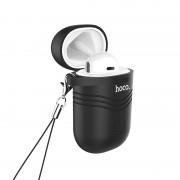 HOCO E39 Admire Sound Single Wireless Bluetooth 5.0 Earphone with Charging Box - Black