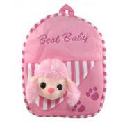 Tickles Pink Sheep Bag Pre School Kid Stuffed Soft Plush Toy 30 cm