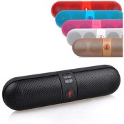 Pill Capsule Bluetooth Stereo Speaker with FM/Pendrive SD card input