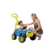 Carrinho De Passeiro Para Bebê Smart Car 2 Em 1 Azul 465 Bandeirante