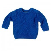 Pulover tricotat baieti motiv geometric