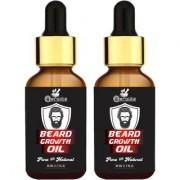 Meralite 2X Beard Growth Oil (Pack of 2) Hair Oil (60 ml) (ML-DB BEARD OIL-30ML-PACK OF 2)