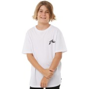 Rusty Kids Boys On Hit Competition Tee White