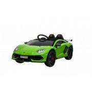 Green Lamborghini Aventador SV - Elbil för barn 000040
