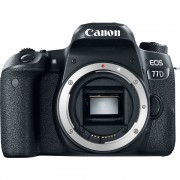 Canon EOS 77D Body Only Digital SLR Camera with Kingston 32GB min. 80MB/s SD Memory Card [kit box]