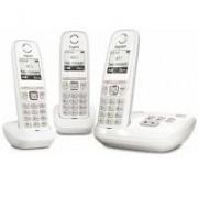 Siemens Téléphone sans fil GIGASET Gigaset AS470 - Trio avec répondeur - Blanc