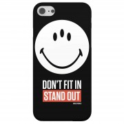 Smiley World Slogan Don't Fit In, Stand Out Phone Case Telefoonhoesje (Samsung & iPhone) - iPhone 5/5s - Tough case - mat