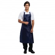 Whites Chefs Clothing Whites waterdicht schort blauw