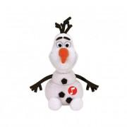 TY Plüss Disney Jégvarázs, 15 cm - Olaf hóember, hanggal