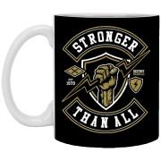 Stronger Than All - 11 oz Ceramic Mug - 254