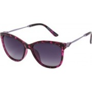 Enrico Over-sized Sunglasses(Violet)