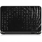 VI Collections WHITE DOT FLYING pvc Laptop Decal 15.6