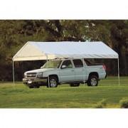 ShelterLogic MaxAP Outdoor Canopy Tent - 20ft. x 10ft., 6-Leg, Model 25757, White