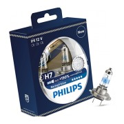 2x Philips H7 Racing Vision 12972RVS2