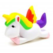 Juguete Squishy de Unicornio arcoiris